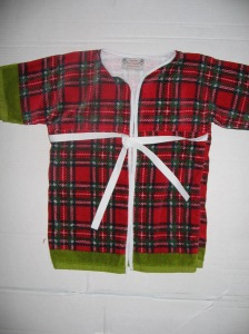 """just like grandpa"" toddler robe"