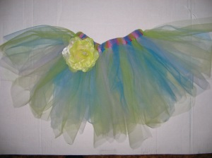 light and sunny tutu