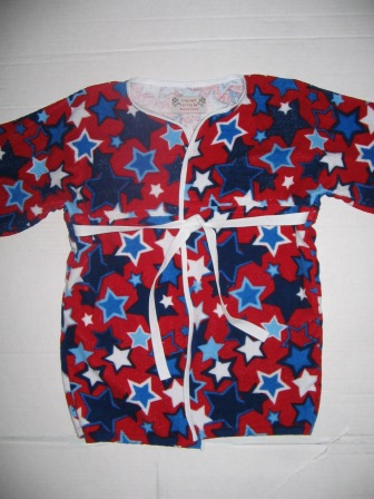 starry toddler robe